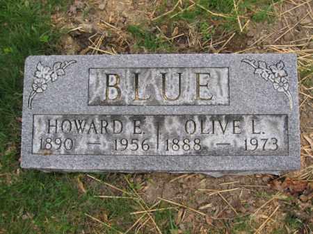 BLUE, HOWARD E. - Union County, Ohio | HOWARD E. BLUE - Ohio Gravestone Photos