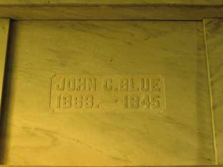 BLUE, JOHN C. - Union County, Ohio   JOHN C. BLUE - Ohio Gravestone Photos