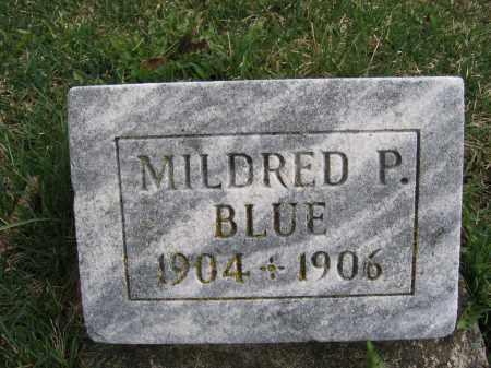 BLUE, MILDRED P. - Union County, Ohio | MILDRED P. BLUE - Ohio Gravestone Photos