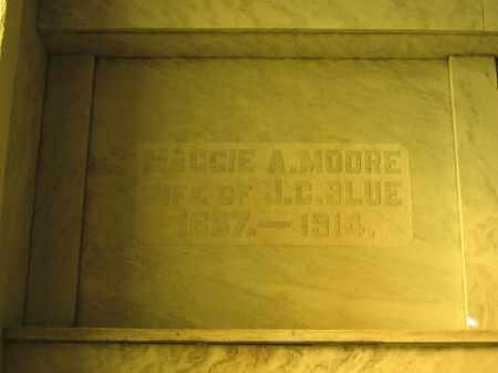 BLUE, MAGGIE A. MOORE - Union County, Ohio | MAGGIE A. MOORE BLUE - Ohio Gravestone Photos