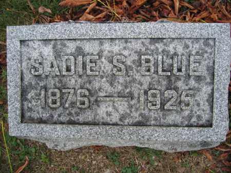 BLUE, SADIE S. - Union County, Ohio | SADIE S. BLUE - Ohio Gravestone Photos