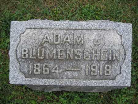 BLUMENSCHEIN, ADAM J. - Union County, Ohio   ADAM J. BLUMENSCHEIN - Ohio Gravestone Photos