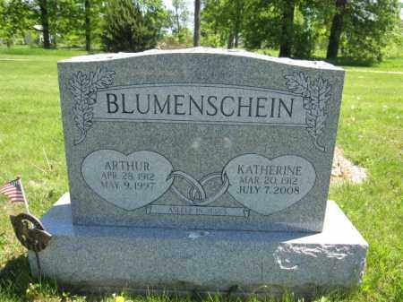 BLUMENSCHEIN, ARTHUR - Union County, Ohio | ARTHUR BLUMENSCHEIN - Ohio Gravestone Photos