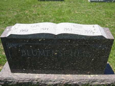 BLUMENSCHEIN, RUTH - Union County, Ohio | RUTH BLUMENSCHEIN - Ohio Gravestone Photos