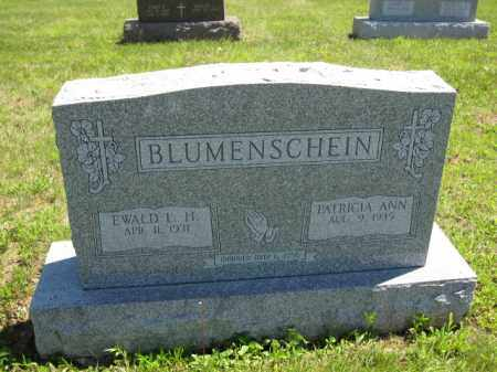 BLUMENSCHEIN, EDWARD L.H. - Union County, Ohio | EDWARD L.H. BLUMENSCHEIN - Ohio Gravestone Photos