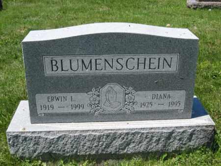 BLUMENSCHEIN, ERWIN L. - Union County, Ohio | ERWIN L. BLUMENSCHEIN - Ohio Gravestone Photos