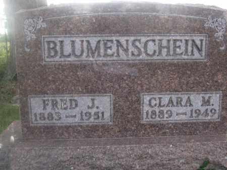 BLUMENSCHEIN, CLARA M. - Union County, Ohio   CLARA M. BLUMENSCHEIN - Ohio Gravestone Photos