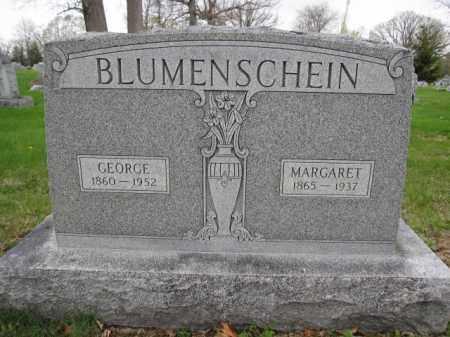 BLUMENSCHEIN, GEORGE - Union County, Ohio | GEORGE BLUMENSCHEIN - Ohio Gravestone Photos