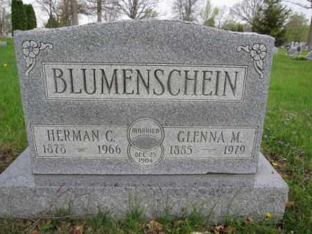BLUMENSCHEIN, GLENNA M. - Union County, Ohio | GLENNA M. BLUMENSCHEIN - Ohio Gravestone Photos