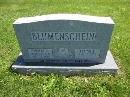BLUMENSCHEIN, EVELYN J. - Union County, Ohio | EVELYN J. BLUMENSCHEIN - Ohio Gravestone Photos