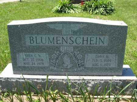 BLUMENSCHEIN, JOHN C.W. - Union County, Ohio | JOHN C.W. BLUMENSCHEIN - Ohio Gravestone Photos