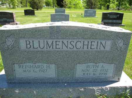 BLUMENSCHEIN, REINHARD H. - Union County, Ohio | REINHARD H. BLUMENSCHEIN - Ohio Gravestone Photos