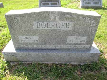 BOERGER, CHRIS J. - Union County, Ohio | CHRIS J. BOERGER - Ohio Gravestone Photos