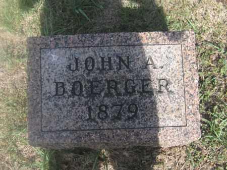 BOERGER, JOHN A. - Union County, Ohio | JOHN A. BOERGER - Ohio Gravestone Photos