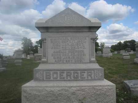 BOERGER, J. MICHAEL - Union County, Ohio   J. MICHAEL BOERGER - Ohio Gravestone Photos