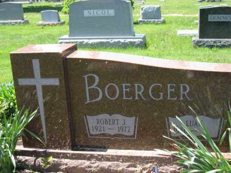 BOERGER, LUAT - Union County, Ohio | LUAT BOERGER - Ohio Gravestone Photos
