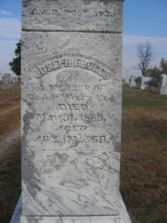 BOGGS, JOSEPH F. - Union County, Ohio   JOSEPH F. BOGGS - Ohio Gravestone Photos