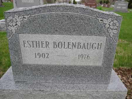 BOLENBAUGH, ESTHER - Union County, Ohio | ESTHER BOLENBAUGH - Ohio Gravestone Photos