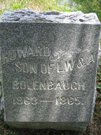 BOLENBAUGH, HOWARD - Union County, Ohio   HOWARD BOLENBAUGH - Ohio Gravestone Photos