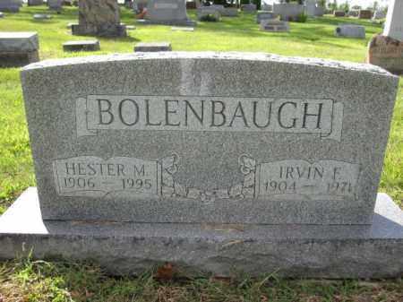 BOLENBAUGH, HESTER M. - Union County, Ohio | HESTER M. BOLENBAUGH - Ohio Gravestone Photos