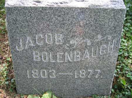 BOLENBAUGH, JACOB - Union County, Ohio | JACOB BOLENBAUGH - Ohio Gravestone Photos