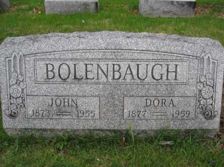 BOLENBAUGH, DORA - Union County, Ohio | DORA BOLENBAUGH - Ohio Gravestone Photos