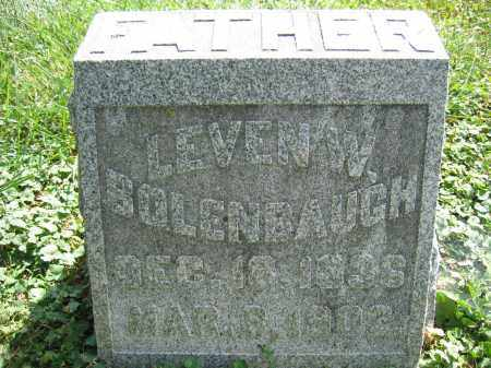 BOLENBAUGH, LEVEN W. - Union County, Ohio | LEVEN W. BOLENBAUGH - Ohio Gravestone Photos