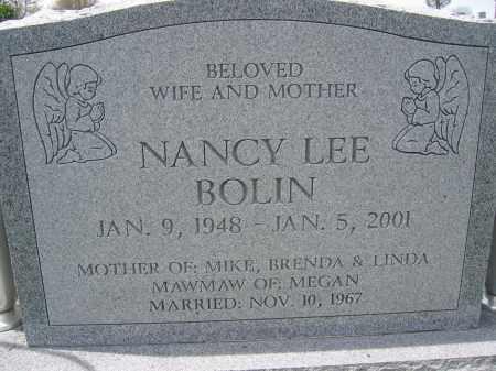 BOLIN, NANCY LEE - Union County, Ohio | NANCY LEE BOLIN - Ohio Gravestone Photos