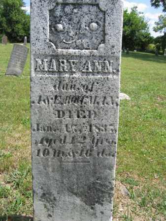 BOLLMAN, MARY ANN - Union County, Ohio   MARY ANN BOLLMAN - Ohio Gravestone Photos