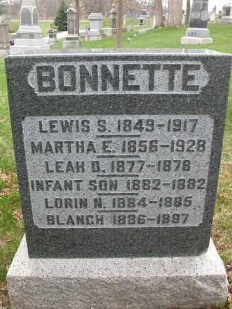 BONNETTE, LEWIS S. - Union County, Ohio | LEWIS S. BONNETTE - Ohio Gravestone Photos