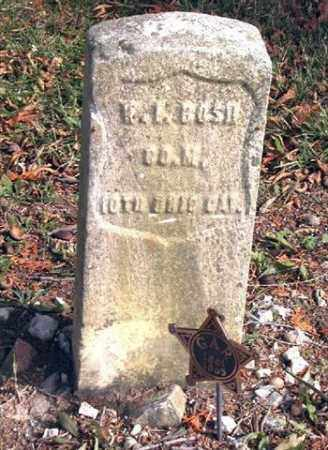 BOSH, W I - Union County, Ohio | W I BOSH - Ohio Gravestone Photos