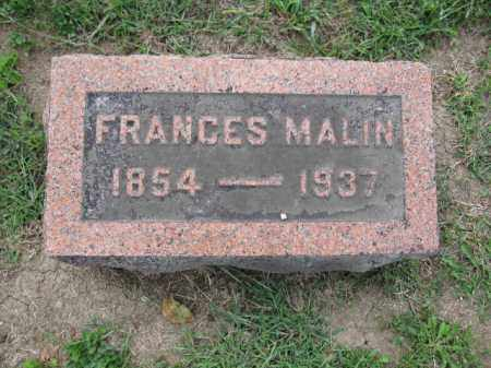 BOSTWICK, FRANCES MALIN - Union County, Ohio   FRANCES MALIN BOSTWICK - Ohio Gravestone Photos
