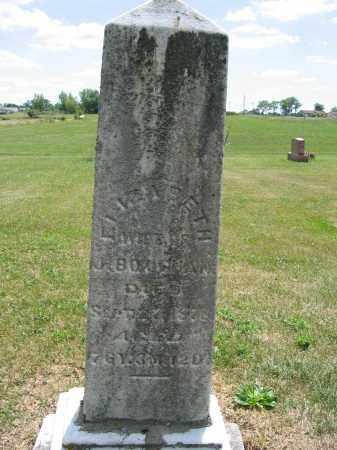 BOUGHAN, ELIZABETH - Union County, Ohio   ELIZABETH BOUGHAN - Ohio Gravestone Photos