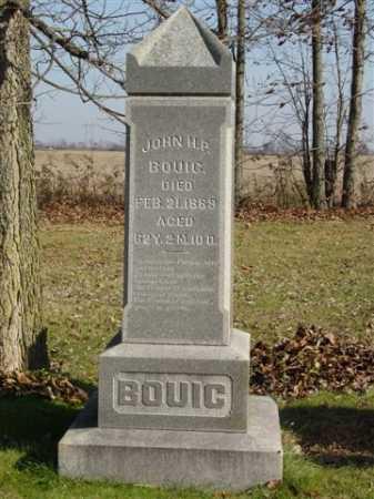 BOUIC, JOHN H. - Union County, Ohio | JOHN H. BOUIC - Ohio Gravestone Photos
