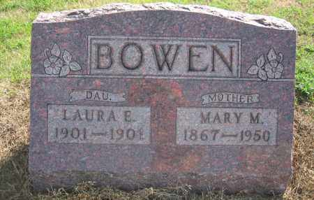 BOWEN, LAURA E. - Union County, Ohio | LAURA E. BOWEN - Ohio Gravestone Photos