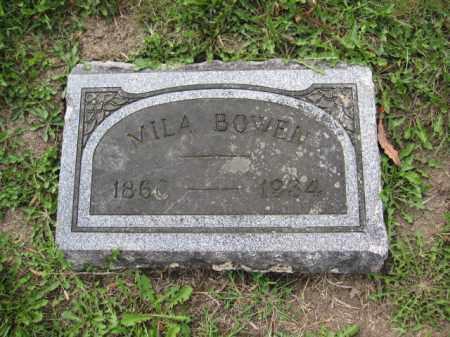 BOWEN, MILA - Union County, Ohio | MILA BOWEN - Ohio Gravestone Photos