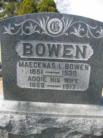 BOWEN, MAECENAS L. - Union County, Ohio | MAECENAS L. BOWEN - Ohio Gravestone Photos