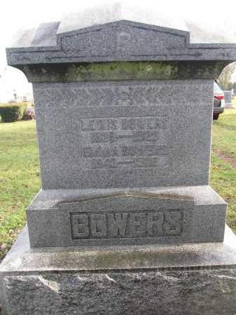 BOWERS, LEWIS - Union County, Ohio | LEWIS BOWERS - Ohio Gravestone Photos