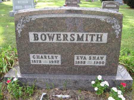 BOWERSMITH, EVA SHAW - Union County, Ohio   EVA SHAW BOWERSMITH - Ohio Gravestone Photos