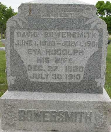 BOWERSMITH, DAVID - Union County, Ohio | DAVID BOWERSMITH - Ohio Gravestone Photos