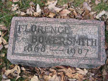 BOWERSMITH, FLORENCE - Union County, Ohio   FLORENCE BOWERSMITH - Ohio Gravestone Photos