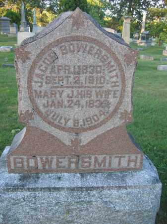 BOWERSMITH, JACOB - Union County, Ohio | JACOB BOWERSMITH - Ohio Gravestone Photos