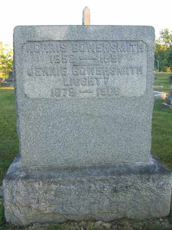 LIGGETT, JENNIE BOWERSMITH - Union County, Ohio | JENNIE BOWERSMITH LIGGETT - Ohio Gravestone Photos