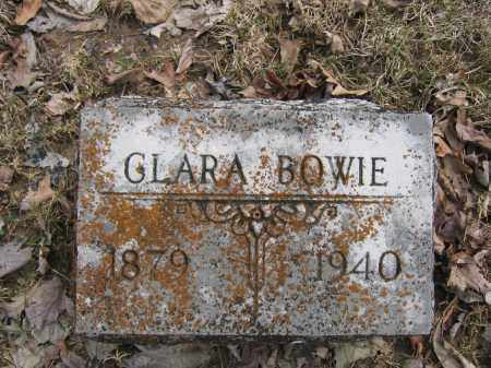 BOWIE, CLARA - Union County, Ohio | CLARA BOWIE - Ohio Gravestone Photos