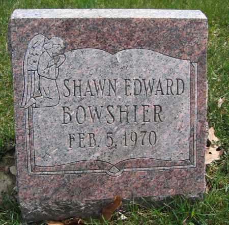 BOWSHIER, SHAWN EDWARD - Union County, Ohio | SHAWN EDWARD BOWSHIER - Ohio Gravestone Photos