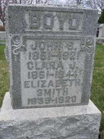 SMITH, ELIZABETH - Union County, Ohio | ELIZABETH SMITH - Ohio Gravestone Photos