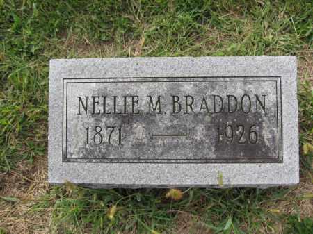 BRADDON, NELLIE M. - Union County, Ohio | NELLIE M. BRADDON - Ohio Gravestone Photos