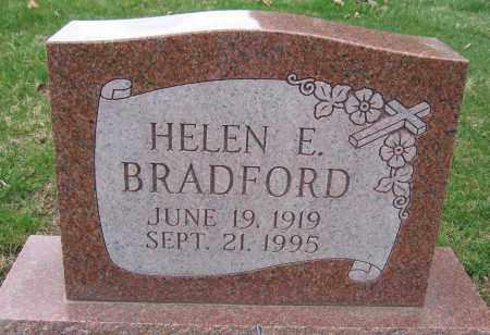 BRADFORD, HELEN E. - Union County, Ohio | HELEN E. BRADFORD - Ohio Gravestone Photos