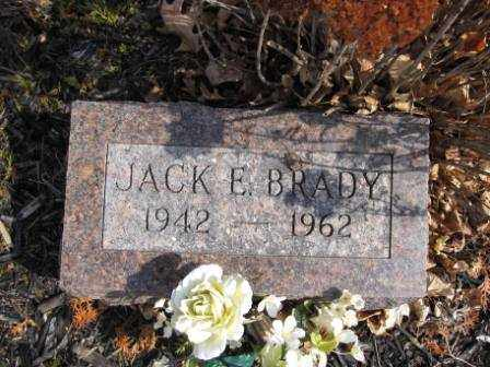 BRADY, JACK E. - Union County, Ohio | JACK E. BRADY - Ohio Gravestone Photos