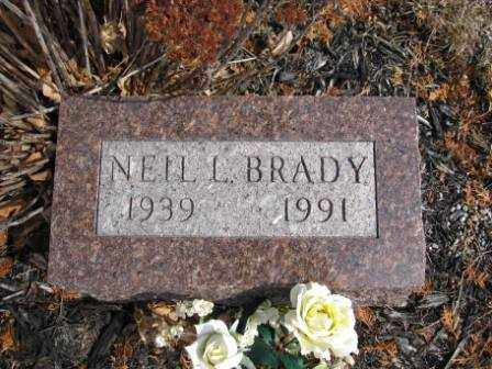 BRADY, NEIL L. - Union County, Ohio   NEIL L. BRADY - Ohio Gravestone Photos